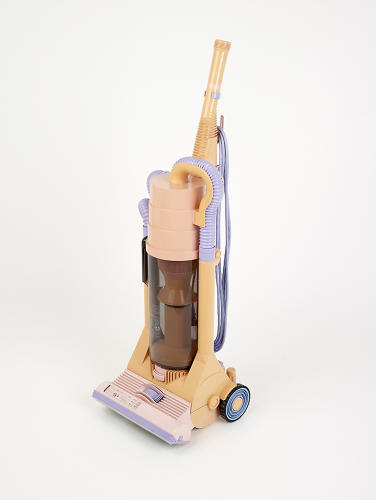 <p>A G-Force Dyson vacuum from 1986 is one of the highlights--both because it was such a remarkable innovation, and for its wild '80s color scheme.</p>