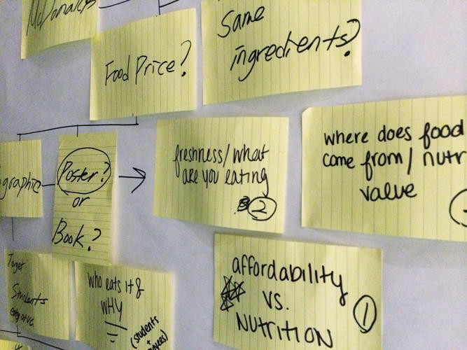 <p>With a curriculum developed with the help of Ideo, the undergraduate program kicked off this semester teaching students how to harness design and design thinking in news.</p>