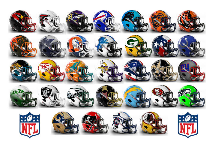 See Bold Alternate Helmet Designs For All 32 NFL Teams | Co.Create | creativity + culture + commerce