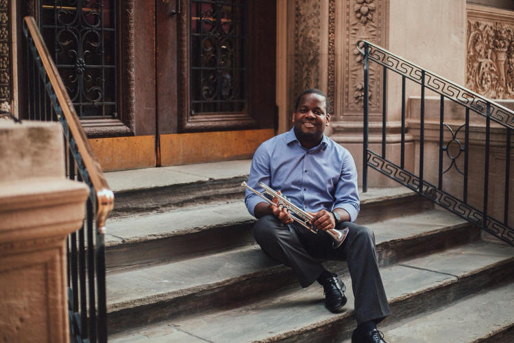 <p>Stanford Thompson an award-winning trumpeter, founded Play on Philly, a music education program for underserved youth in Philadelphia.</p>