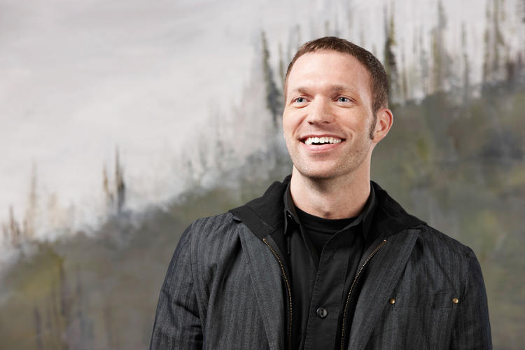 <p>Travis Knight, Laika president/CEO, producer, and lead animator on <em>ParaNorman</em></p>