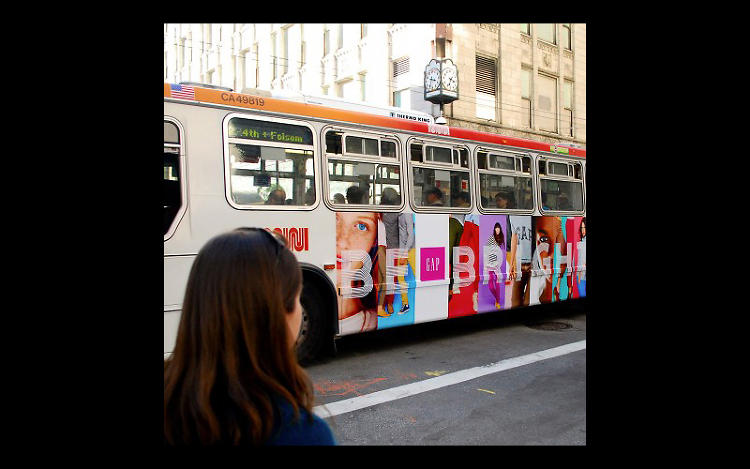 <p>GEOFENCING: Gap coupon promotion</p>  <p>Waiting for a bus in an exercise in tedium. Being offered a virtual coupon while waiting, however, might make the whole public transit thing a little bit easier. That's exactly what Gap did for its spring 2012 Be Bright campaign. To support traditional outdoor advertising, the company partnered with out-of-home ad company Titan to create a campaign based around geofencing--the establishment of a digital perimeter around a set location. When phone-toting people enter the fenced area, they can have information pushed to the phones. The Gap set up locations around bus shelters near its stores in New York, San Francisco, and Chicago. When mobile phone users were within those geographic parameters and happened to be browsing or killing time by playing Words with Friends (a high likelihood), they were served an ad featuring a coupon for $10 off a $50 purchase at the Gap, conveniently located nearby, of course. Considered to be the first geofencing retail campaign of its kind, it garnered over 2.5 million impressions with a comparatively high click-through rate of 0.93% (versus the average 0.2%), during its two-week run, signaling strong potential for being able to communicate with customers at the right place and time.</p>