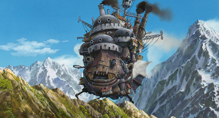<p><strong><em>Howl's Moving Castle</em>, 2004</strong><br /> &quot;I think Howl's Moving Castle has the same darkness as Princess Mononoke. There's a beautiful, beautiful scene, but it's not one of my favorites; it didn't come together as well as the others for me.&quot;</p>