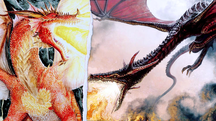 <p>Winner: Smaug.<br /> Dueling dragons are what nerd dreams are made of, making this battle especially epic. Since Tolkien's Smaug is probably the smarter of the two, and a real chatterbox, Martin gives him the edge over the larger Balerion.</p>