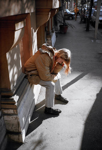 <p>After a show in Italy and a nervous breakdown, Kurt Cobain, age 22 here, takes time to think over the future of Nirvana. Source: <a href=&quot;https://itunes.apple.com/us/book/experiencing-nirvana-grunge/id575827071?mt=11&quot; target=&quot;_blank&quot;><em>Experiencing Nirvana: Grunge In Europe, 1989</em></a></p>