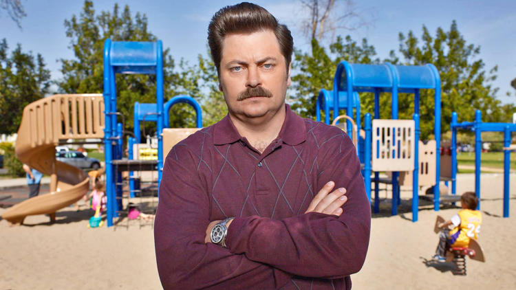 <p>Nick Offerman, the man behind Parks and Recreation's cornerstone character <a href=&quot;http://www.fastcocreate.com/1681630/the-making-of-a-man-how-ron-swanson-became-ron-swanson#1&quot; target=&quot;_self&quot;>Ron Swanson, talks about</a> the role, and the mustache, of a lifetime.</p>