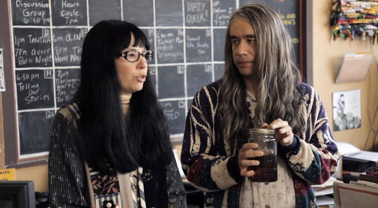 <p><strong>Who:</strong> Brownstein's repressed Toni and Armisen's militant Earth mother Candice run the &quot;Women and Women First&quot; bookstore, where they don't want top-selling authors… they want bottom-selling authors. The duo have been featured in sketches that date back to the precursor to <em>Portlandia</em>, web series <a href=&quot;http://youtu.be/ly0ZkwpeUjI&quot; target=&quot;_blank&quot;>Thunderant</a>. <br /> <strong>M.O.</strong> Combative and aggrieved, Candace is a bit more reactionary, with a tendency to reach for a gas can when set off by guests like Steve Buscemi, Aubrey Plaza, and Penny Marshall.<br /> <strong>Key sketch:</strong> Season 1, episode 6's visit from Heather Graham, who ends up tempting Toni.</p>