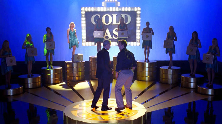 <p>Aired: Season 1 Episode 11</p>  <p>The very first fake show within the world of <em>30 Rock</em> was the brainchild of Jack McBrayer's sweet Southern page, Kenneth. <em>Gold Case</em> is a game show in the spirit of <em>Deal or No Deal,</em> wherein one of a series of models holding briefcases is actually holding one filled with gold. Unfortunately, it turns out the weight of the gold makes for a dead giveaway. Host John McEnroe is not happy about this outcome.</p>
