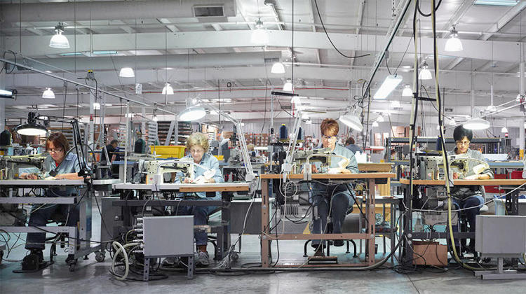 <p>Making leather goods for Shinola at Ericscott</p>