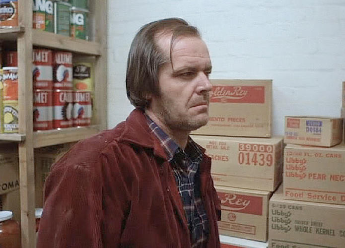 <p>Cans of Calumet brand baking powder seen in the background of Jack Torrance's pantry scenes were not randomly placed there by a set dresser, according to Bill Blakemore. Instead, the Indian chief graphic symbolizes native American culture that got squashed by white settlers. Movie dialogue points out that the Overlook Hotel was built on top of Indian burial grounds.</p>