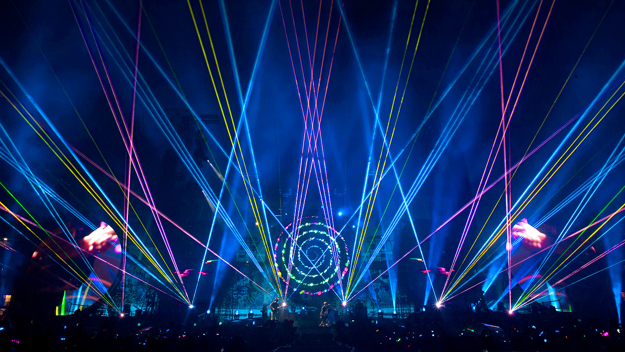 coldplay sucks but how awesome is their light show codesign business design awesome lighting