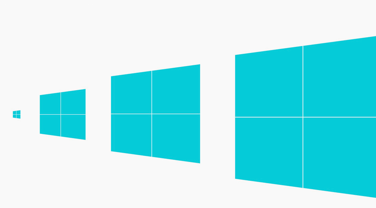 The new windows 8 logo arrives trailed by pirates and for The new window company