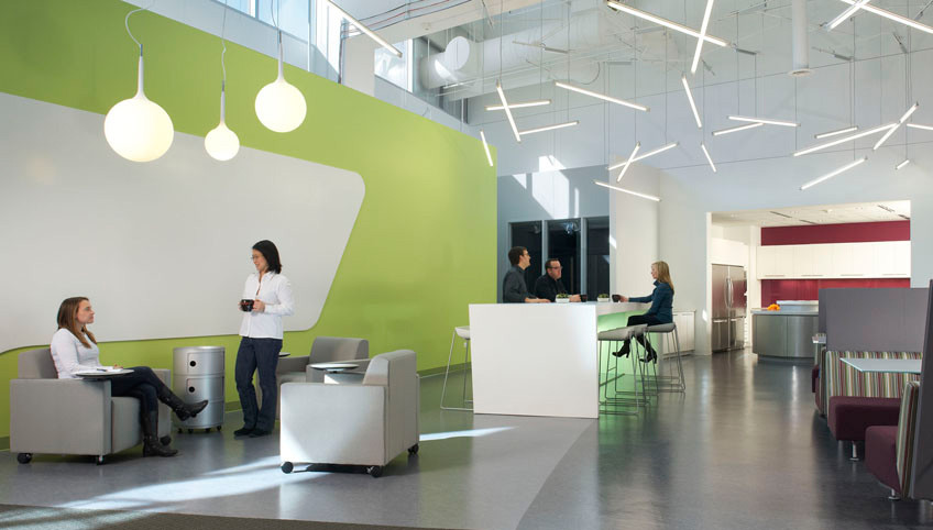 8 keys to creating an office where ideas flow co design for Office design of the future