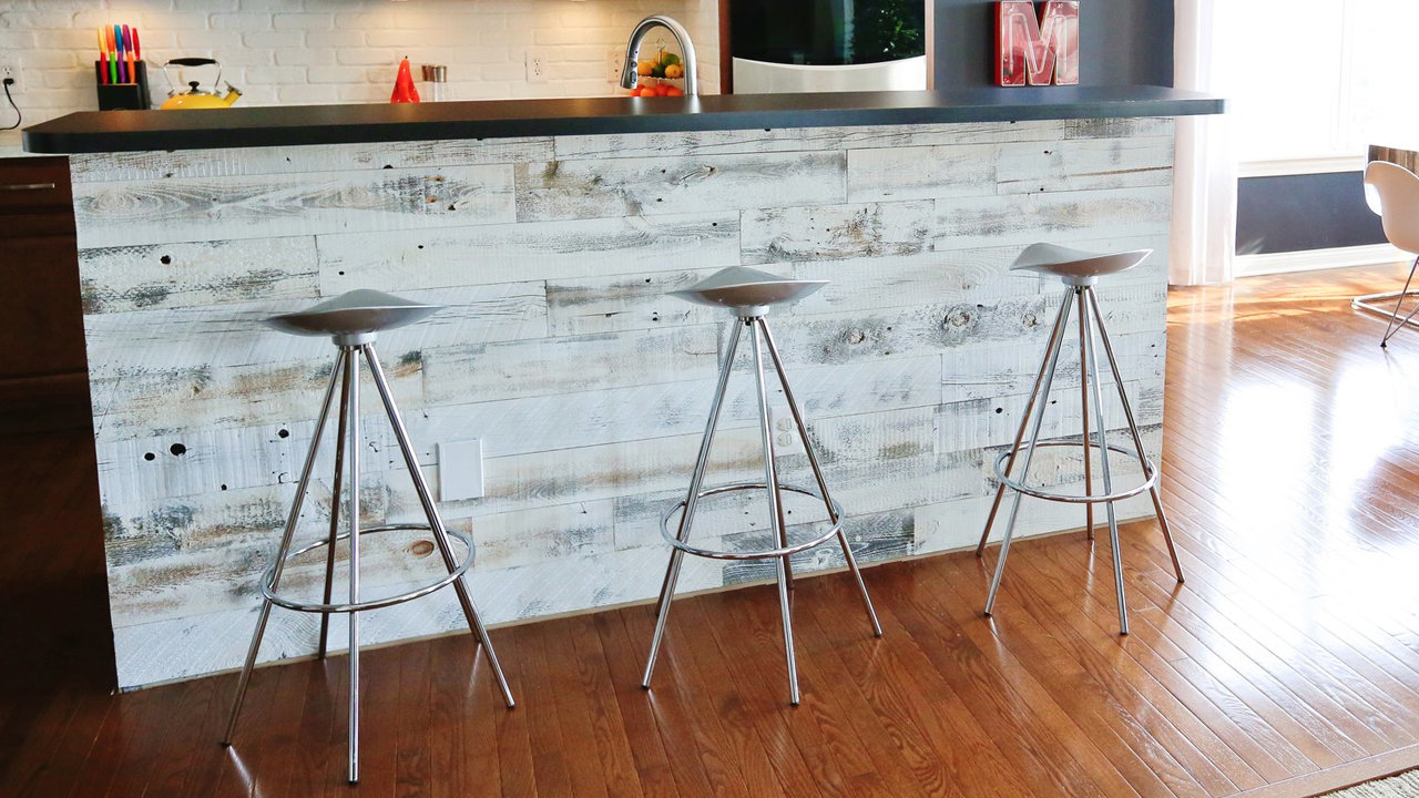 Peel And Stick Wood Panels Provide An Instant Reclaimed