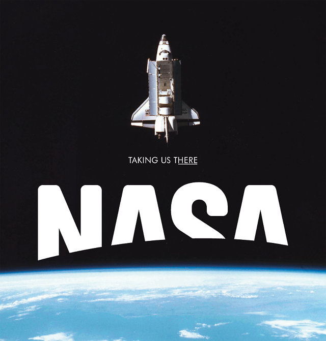 NASA's Logo Redesigned To Be Truly Out Of This World | Co ...