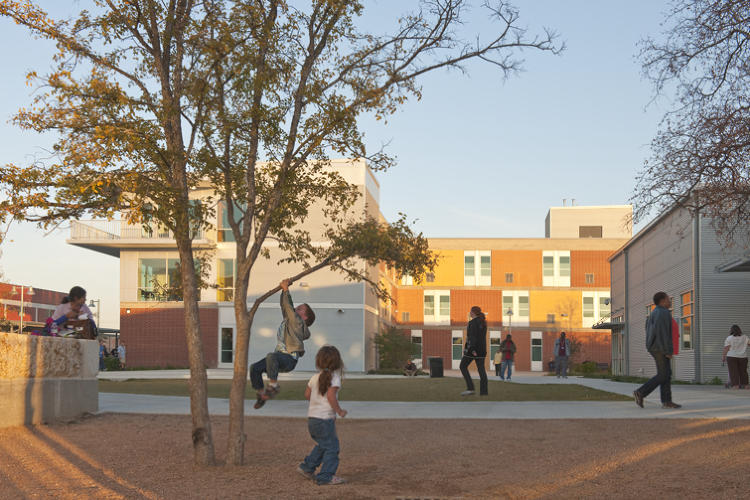 <p>A winner of the Special Housing award, which recognizes shelter for under-served populations, Haven for Hope, in San Antonio, Texas, creates a massive 37-acre &quot;campus of transformation&quot; for the city's homeless. By Overland Partners</p>