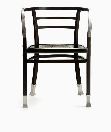 <p>Arm-rest chair No. 6516 by Otto Wagner (1903 to 1904).</p>