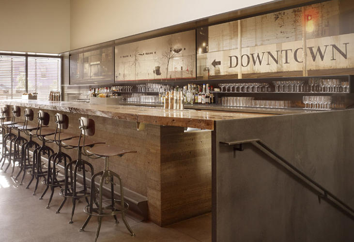 Bar agricole bags award for best restaurant interior of for Best architecture firms in san francisco
