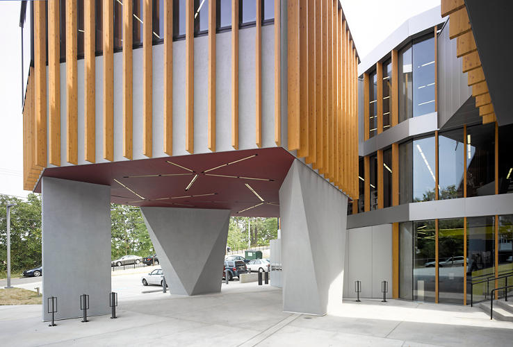 <p>Francis Gregory is Adjaye's second D.C.-area library. The first, William O. Lockridge Library, opened on June 13th.</p>