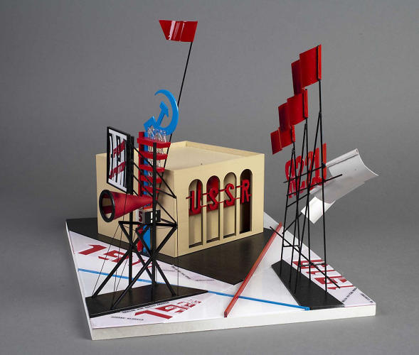 <p>Architecture students at the University of Western Australia built these exacting scale models of Soviet Constructivist icons.</p>