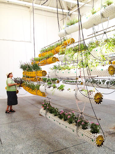 <p>At the Spanish Pavilion in Venice, Selgascano Architects explore evolutions in agricultural technology.</p>