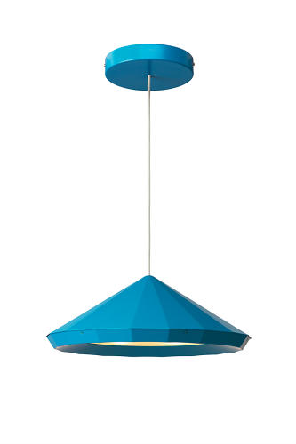 <p>Henrik Preutz derived inspiration from both classic pendants and modern LED technology, which is built into the faceted shade.</p>