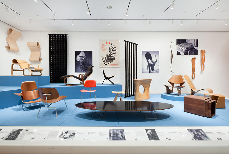 <p>The Eames Elliptical Table.</p>