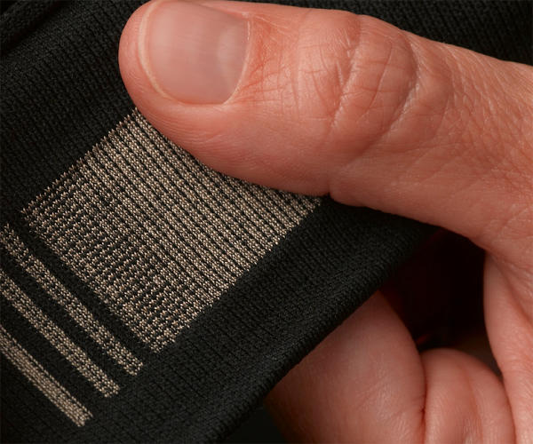<p>Companies like <a href=&quot;http://www.textronicsinc.com/&quot; target=&quot;_blank&quot;>Textronics</a> (owned by <a href=&quot;http://www.adidas.com/us/&quot; target=&quot;_blank&quot;>Adidas</a>) have been developing e-textiles with electronics woven right into the fabric.</p>