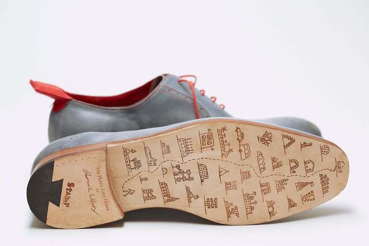 <p>Some cool custom soles.</p>