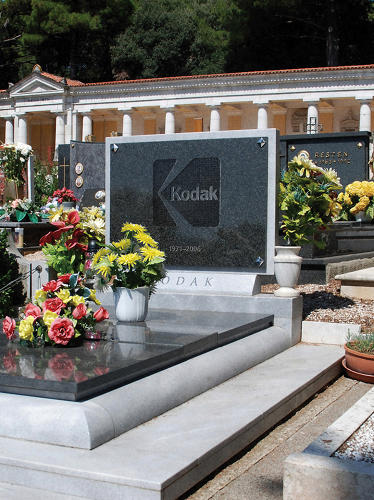 <p>So long, Kodak.</p>