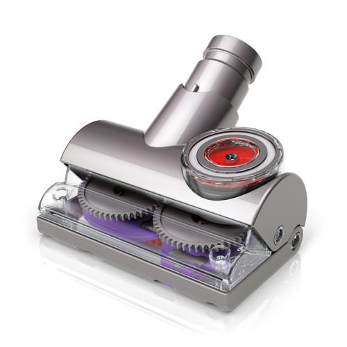 <p>Dyson's new vacuum head is designed specifically to stop the hair-wrap-around-the-brush problem.</p>