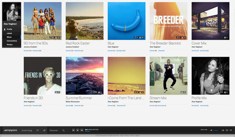 <p>User-created mixes are one of the ways in which the site is pushing a new social music experience.</p>