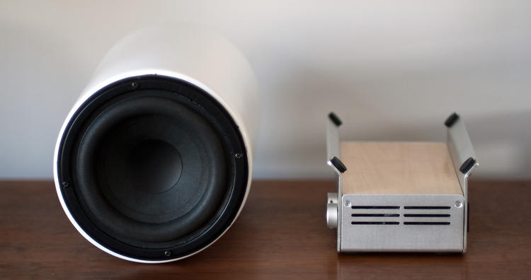 <p>Of course, from the side, it just looks like any other speaker.</p>