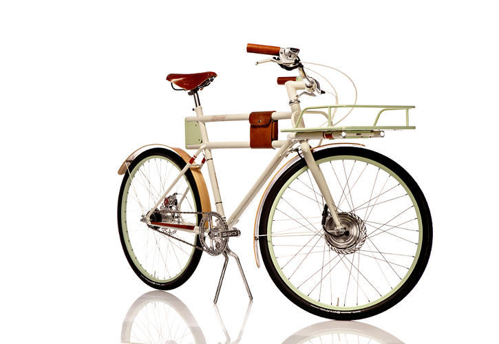 <p>Vollmer started developing the bike last year after Ideo was invited to participate in the Oregon Manifest, an annual bike design competition.</p>