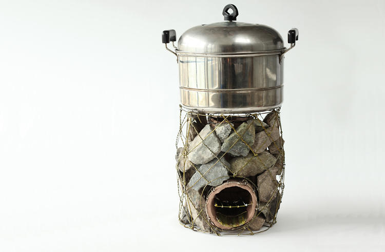 <p>The stove is far more effective than the commonly used three-stone method of cooking.</p>