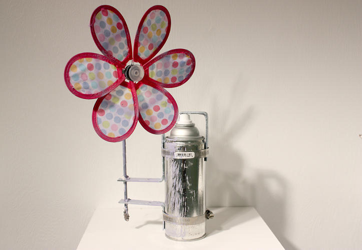 <p>But they force the viewer to focus on the process of spray paint transforming an object.</p>