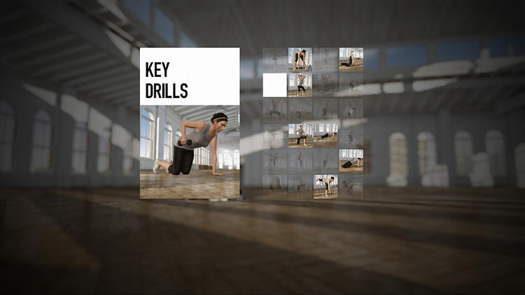 <p>The software assesses your fitness level and individual needs (like flexibility and strength) and it customizes a workout routine to suit you.</p>