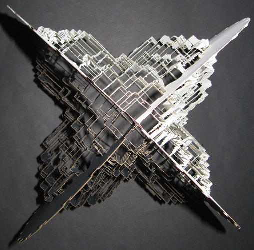 <p>Siliakus, who is Dutch, has taken the technique to a new level, introducing multi-dimensional models that take weeks to assemble.</p>