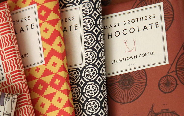 <p>Meanwhile, Williamsburg artisanal chocolatiers Mast Brothers Chocolate won out as a representation of gentrified Brooklyn.</p>
