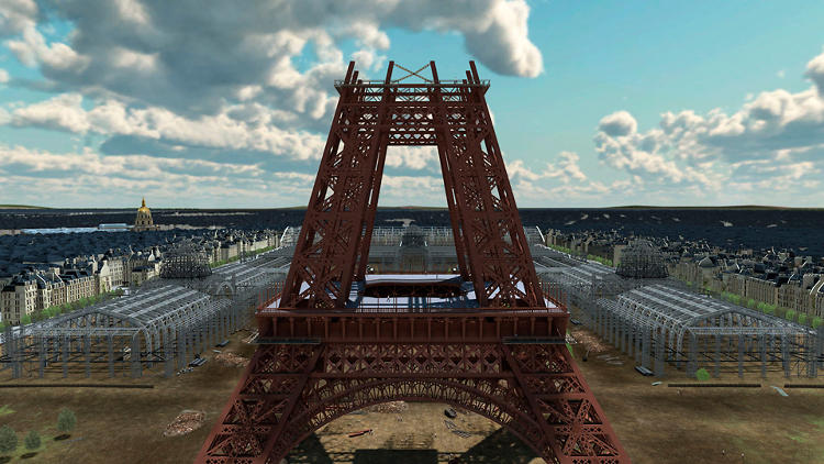 <p>Travel back to a time where the Eiffel Tower was a looming construction zone before becoming an international landmark.</p>