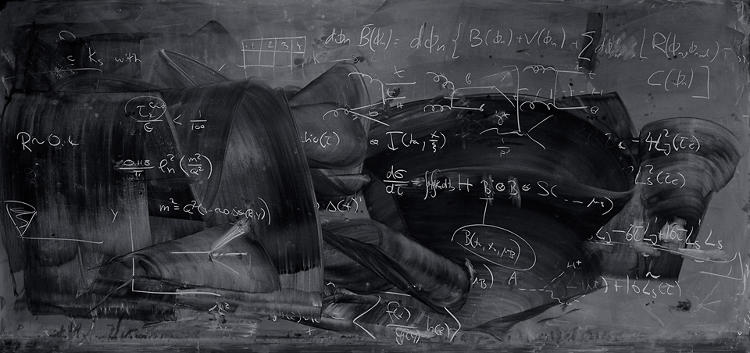 <p>Photographer Alejandro Guijarro's series, <em>Momentum</em>, is a collection of images that show the post-lecture blackboards at leading quantum mechanics research institutions.</p>