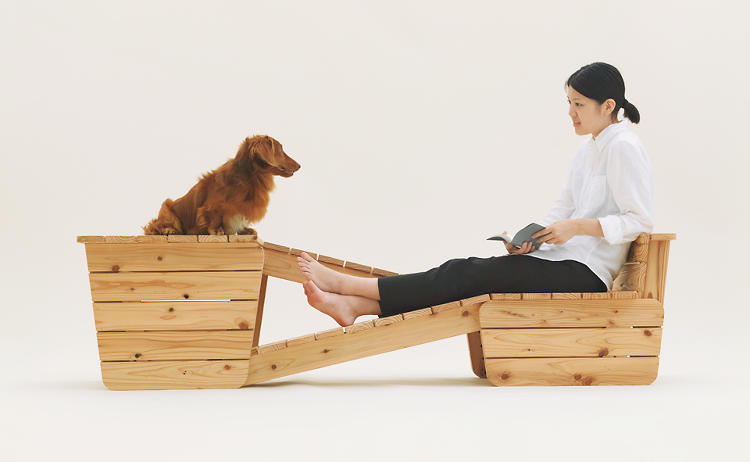 <p>It also lets dogs sit eye level with their owners, for more soul-stirring conversation.</p>