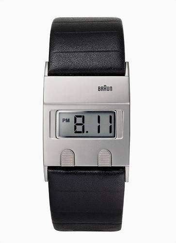 <p>In 1978, Dieter Rams and Dietrich Lubs designed a minimalist digital watch called the DW30. Braun produced only 3,000 of them, and for 30 years they were hard to come by--until very recently, when the German manufacturer decided to reintroduce the <a href=&quot;http://www.fastcodesign.com/1670165/braun-reissues-a-sleek-digital-watch-by-dieter-rams&quot; target=&quot;_self&quot;>BN0076</a>, a bold, sleek timepiece based on the original DW30. Buy it <a href=&quot;http://www.architectgiftsplus.com/brbndiwa.html?utm_source=googlepepla&amp;utm_medium=adwords&amp;id=19651000119&amp;utm_content=pla&quot; target=&quot;_blank&quot;>here</a> for $250.</p>