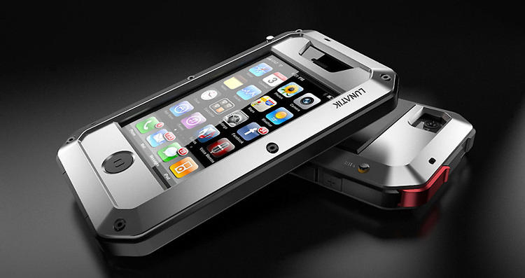 <p>With glass on both sides, the iPhone 4 (and 4S) is as slippery as it is fragile. For the clumsiest among us, though, there's <a href=&quot;http://www.fastcodesign.com/1670134/scott-wilsons-back-with-the-toughest-iphone-case-ever#1&quot; target=&quot;_self&quot;>the Taktik</a>, an angular smartphone case that's essentially a Master Chief Halloween costume for your smartphone. Made of aircraft-grade aluminum, the Taktik not only protects the edges of your iPhone but also adds a second layer of Gorilla Glass on top of the display, protecting it from drops while preserving its precision. <a href=&quot;https://www.lunatik.com/products/taktik&quot; target=&quot;_blank&quot;>Available for the iPhone 4 and 4S in a handful of colorways, starting at $125.</a></p>