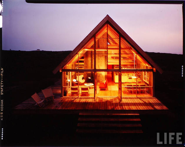 <p>Risom, who is best known for his work as a furniture designer, designed the home in 1965.</p>