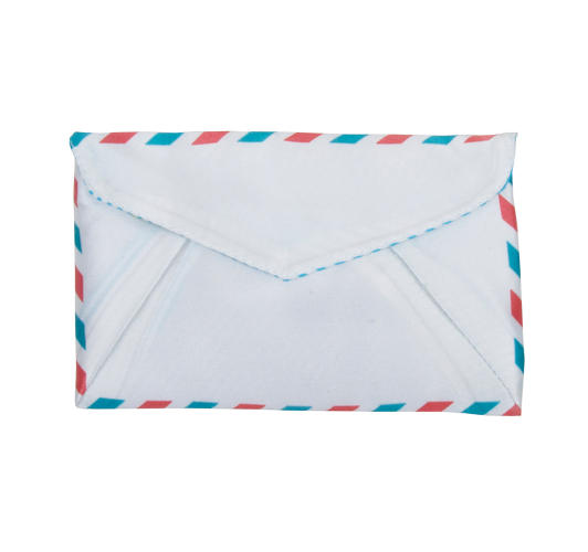 <p>Keep your precious things on hand in the airmail wallet.</p>