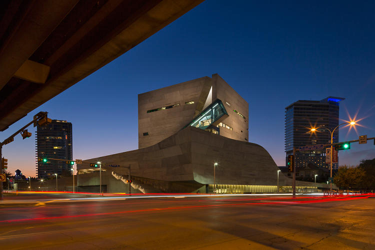 <p>The Thom Mayne-designed Perot Museum of Nature and Science opened in Dallas this weekend.</p>