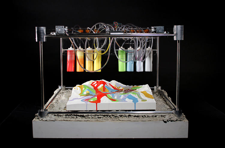 <p>The Quakescape 3D Fabricator is a machine that turns earthquakes into art.</p>