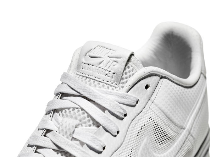 <p>For example, the upper is wrapped in Nike's Hyperfuse system, while Lunarlon foam gives it a new sole.</p>