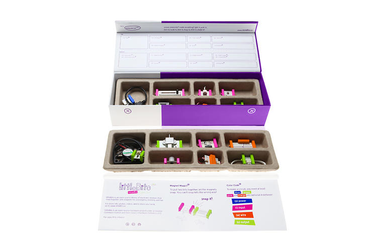 <p>LittleBits, the startup that encourages kids and adults to get their hands dirty with electronic circuitry, turns one this fall.</p>